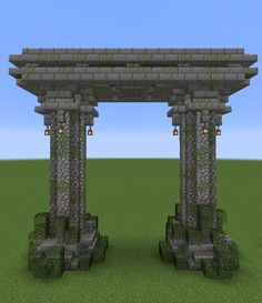 Made this small arch while messing around with some of new blocks/textures, I love this update! : Minecraft Made this small arch while messing around with some of new blocks/textures, I love this update! Minecraft Villa, Architecture Minecraft, Casa Medieval Minecraft, Minecraft Statues, Minecraft Building Guide, Minecraft Mansion, Minecraft Structures, Minecraft Cottage, Cute Minecraft Houses