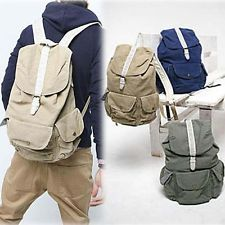 7abceb15dd41 Chic New Korean College Style Canvas Travel Backpack For Men And Women  BG-0102 Top