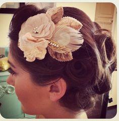 Bridesmaids Hair Piece