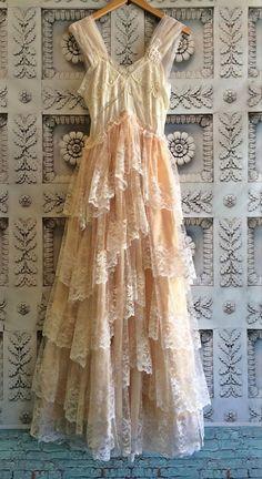 Wedding dress? Prom dress? Nightgown? Love how feminine it is!