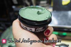 DIY Lush Love Lettuce Fresh Face Mask