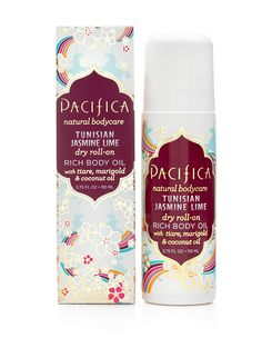 Pacifica - Tunisian Jasmine Lime Dry Roll-on Body Oil (Vegan and gets great reviews)