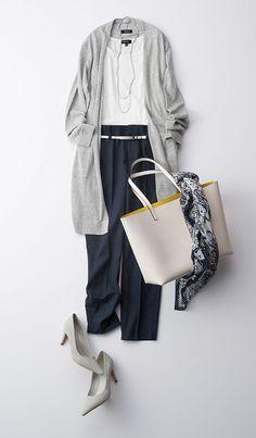 Nachrichten - Women's Fashion that I love - kleidung Fashion Mode, Work Fashion, Hijab Fashion, Fashion Looks, Fashion Outfits, Womens Fashion, Daily Fashion, Style Fashion, Looks Style