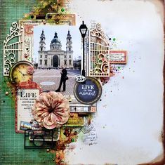 Travel+LO - Kaisercraft - Story Book Collection. http://timeforscrapbooking.blogspot.nl/2016/04/scraps-of-darkness-april-kit_29.html