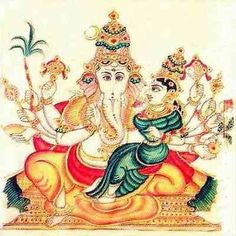 Maha Ganapati Mool Mantra is a very powerful healing mantra which brings peace of mind and prosperity upon the practitioner