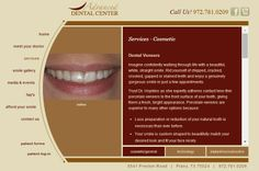 Trust Dr. Hopkins as she expertly adheres contact lens-thin porcelain veneers to the front surface of your teeth, giving them a fresh, bright appearance. Porcelain veneers are superior to many other options because: http://www.smilesbyadc.com/service-veneers.html