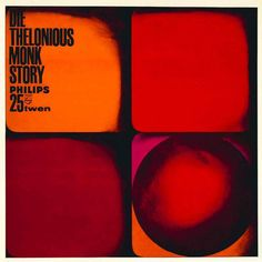 Roberto Patelli, album artwork for The Thelonius Monk story, 1964. From the Philips Twen record series, Germany.