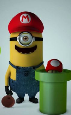Try the new game minion instead of Mario