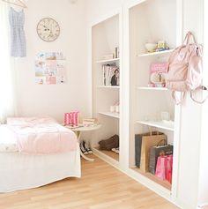 cute bedroom   via Tumblr