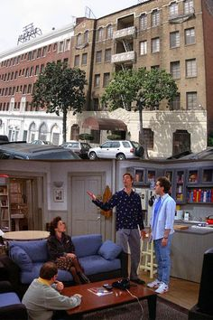 Seinfeld's apartment. To locate: 129 West & 81st Street. New York City. Jerry Seinfeld actually lived on 81st Street when he got his break in stand up. Info bout location came from an on line site. I did not take this picture.
