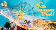 Take a day out and spend it rocking rolling in a classic giant wheel. Book your tickets today! Or Call at 8882388843