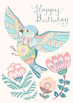 Happy Birthday Art, Happy Birthday Pictures, Happy Birthday Greetings, Birthday Images, Birthday Greeting Cards, School Of Visual Arts, Happy B Day, Birthday Messages, Illustrations