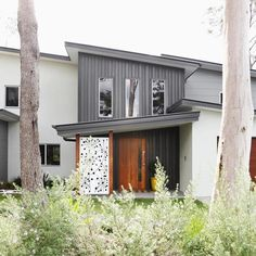 """441 Likes, 9 Comments - Scyon Walls (@scyonwalls) on Instagram: """"Give us a home among the gum trees! A modern mixed materials facade puts a contemporary twist on…"""""""