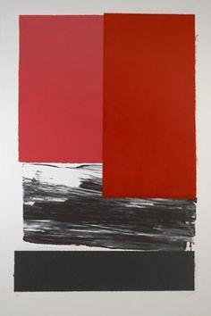 "rafael canogar - ""Sin título, Edición 2/5"" Collage de paper fet a ma i acrílic sobre paper; 156,5x107 cm; 2006"