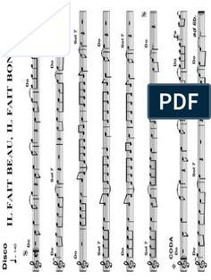 Les Mots Bleus - Christophe.pdf Saxophone, Words, Music, Saxophones