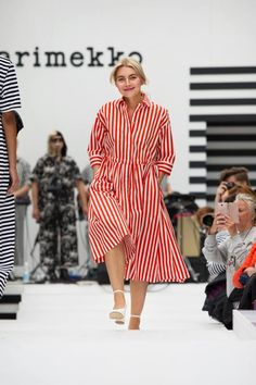 Fashion 2018 Trends, Outdoor Fashion, Marimekko, Spring Summer 2018, Ready To Wear, Fashion Show, Fashion Dresses, Street Style, Helsinki
