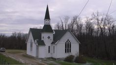 Sewellsville, OH (Belmont County) - The old Methodist church on a small gravel road off of Rt. 800
