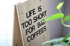 "littlealienproducts: ""Funny Coffee Card by SubstellarStudio """