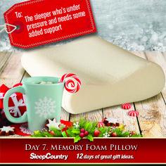 Day 7 - Memory Foam Pillow