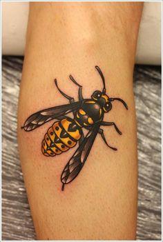 Bee Tattoo Designs (6)