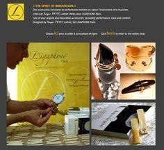 Un site dédié à nos anches et ligatures : A special website for our reeds and ligatures:  www.anches-et-ligatures.com
