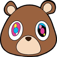 1da3f53731566 Kanye West Dropout Bear by notsochildish Kanye West Album Cover