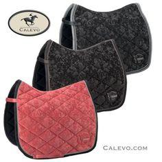 Eskadron - saddle cloth VELVET ORNAMENTS - PLATINUM -- CALEVO.com Shop
