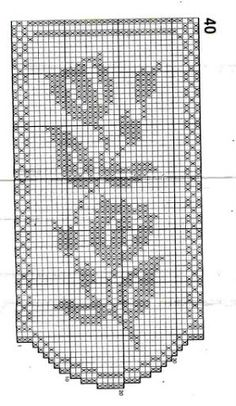 Thrilling Designing Your Own Cross Stitch Embroidery Patterns Ideas. Exhilarating Designing Your Own Cross Stitch Embroidery Patterns Ideas. Filet Crochet Charts, Crochet Borders, Crochet Diagram, Knitting Charts, Crochet Curtains, Crochet Tablecloth, Tapestry Crochet, Doily Patterns, Embroidery Patterns