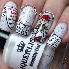 Christmas by madamluck  #nail #nails #nailart