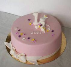 Baby Girl Birthday Cake, Birthday Cakes, Birthday Parties, Balloon Party, Air Balloon, Novelty Cakes, Moomin, Baking Ideas, How To Make Cake