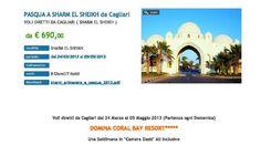 Pasqua a Sharm El Sheikh con voli da Cagliari