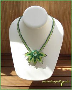 Mina smycken: Gröna blader