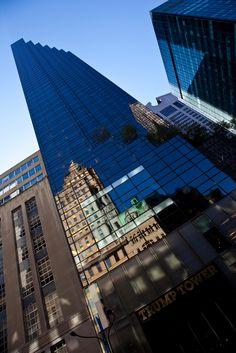 Superb Shot Showcasing The Menacing Height Of Trump Tower -- New York