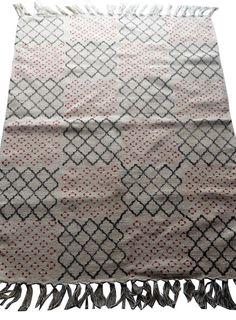2'x3Ft Patchwork Block Print Turkish Kilim Dhurrie Persian Oriental Area Rug3x5' #Handmade #ArtsCraftsMissionStyle Kilim Rugs, Persian, Oriental, Arts And Crafts, Quilts, Blanket, Crochet, Meditation, Handmade