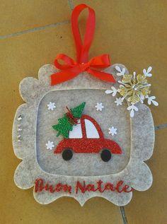 Cornicetta Buon Natale, La coppia creativa
