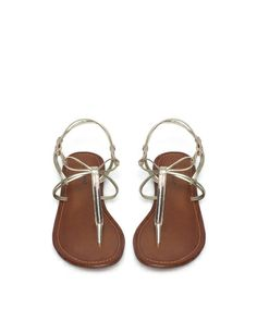 silver strappy sandals for summer