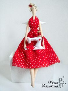 FOR REGINA - tilda doll tutorial...