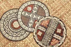 Round Fijian Tapa (Masi)