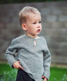 Raglan pullover / Baby alpaca gray sweater /  light by Ingugu, €42.00