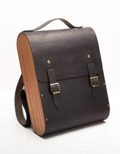 leather and wood backpack - Google zoeken