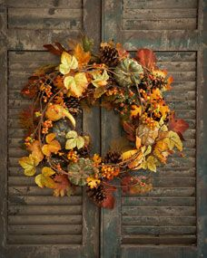 Park Hill Collections 28 Bountiful Harvest Wreath