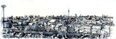 02.09.2014- Klunkerkranich, panorama of Berlin (Berlin- Neukölln)_ © Laetitia Hildebrand