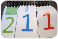 Les nombre avec Montessori