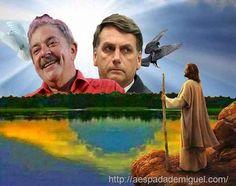 Em 2018 em nova eleição presidencial em disputa teremos Bolsonaro como representante da elite global e Lula dos pobre, do povo brasileiro