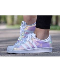 Adidas Women Shoes Iridescent Adidas superstar shoes // available from shoe asylum - Adidas Shoes for Woman - - We reveal the news in sneakers for spring summer 2017 Cheap Adidas Shoes, Adidas Shoes Women, Adidas Sneakers, Women Nike, Nike Sb, Adidas Superstar 80s, Adidas Originals, Adidas Tumblr Wallpaper, Shoes