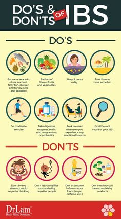 Do's and Don'ts of IBS