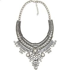 Vintage #BohoBibChokerNecklace Collar Design Statement Pendants Necklaces Bridal Jewelry