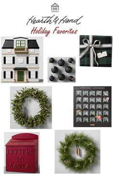 Hearth and Hand holiday collection