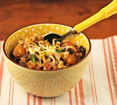 Recipe for Slow Cooker Turkey, Black Bean and Squash Chili - The Perfect Pantry®