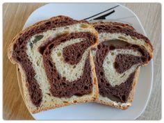 Kovászos csíkos kalács | Betty hobbi konyhája Bread, Food, Brot, Essen, Baking, Meals, Breads, Buns, Yemek